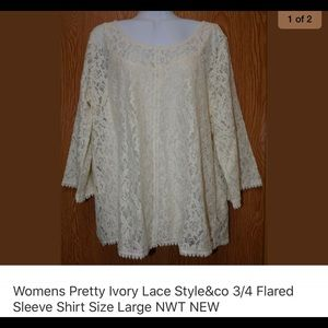 Very pretty lace dress style &co